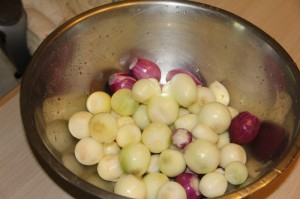 English Style Pickled Onions