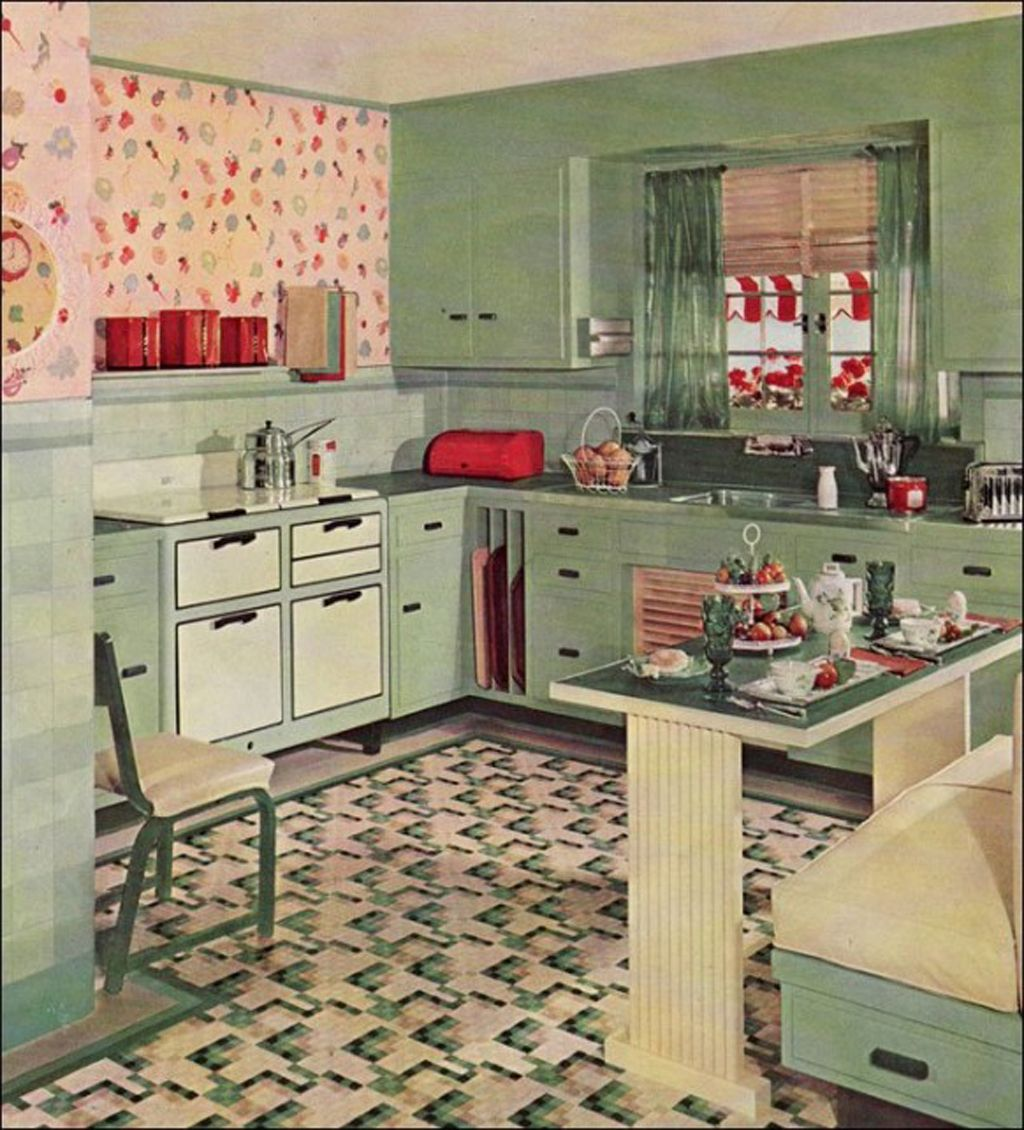 Top 10 Coolest Vintage Kitchens Old Fashioned Families